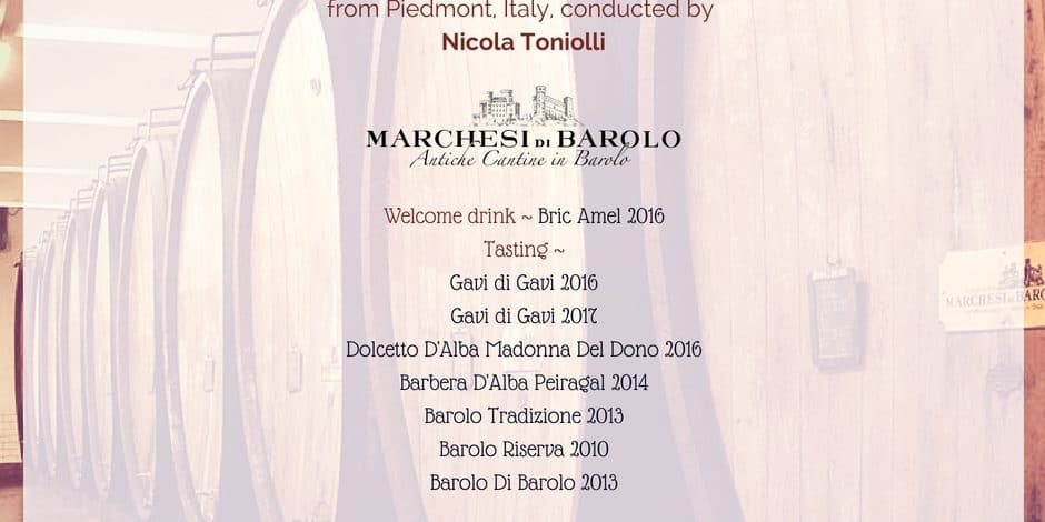 Marchesi Di Barolo 22nd June