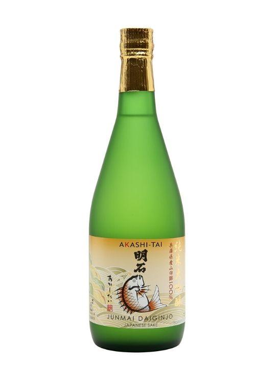 akashi sake junmai daiginjo 72cl