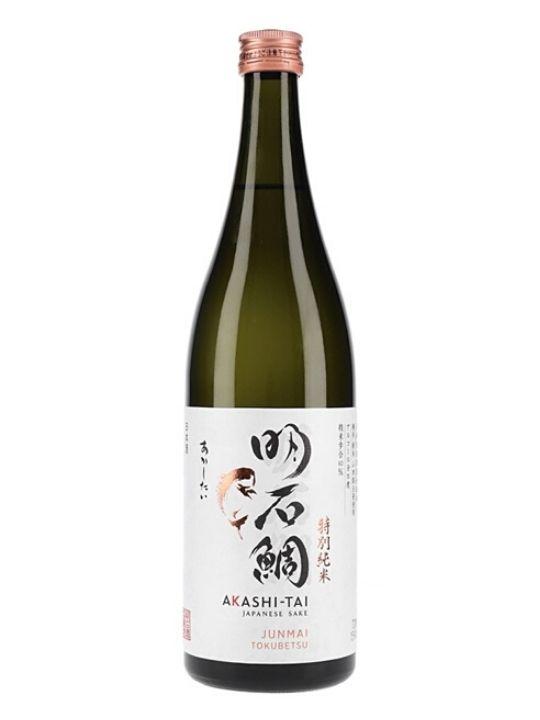 akashi sake junmai tokubetsu 72cl