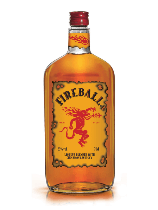 fireball whiskey 70cl