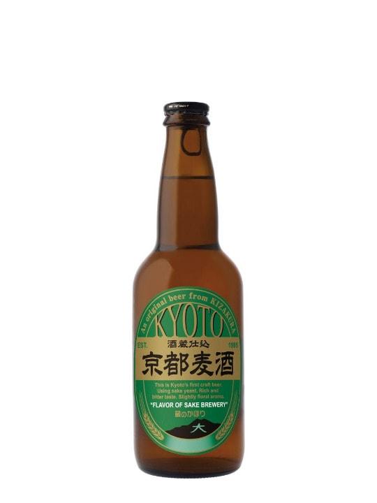 kyoto beer flavor of sake brew 33cl