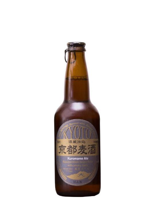 kyoto beer kuromame ale 33cl