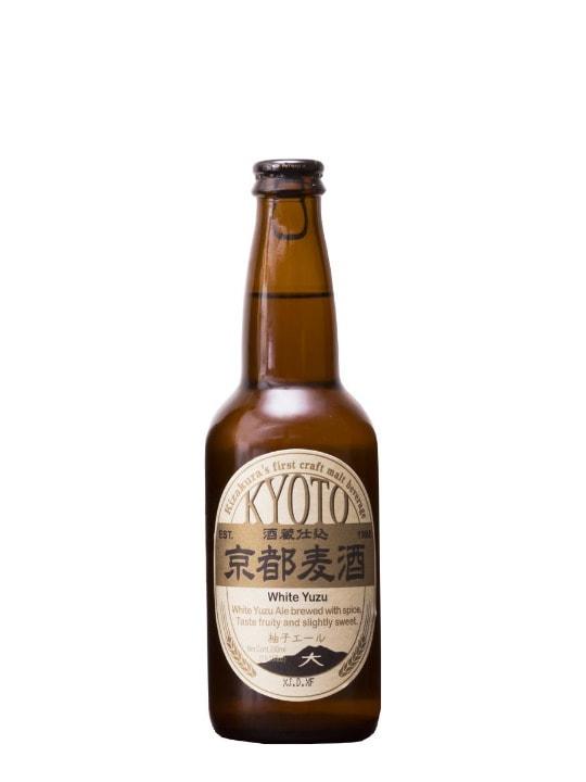 kyoto beer white yuzu 33cl