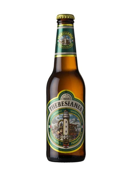 theresianer premium pils beer 33cl