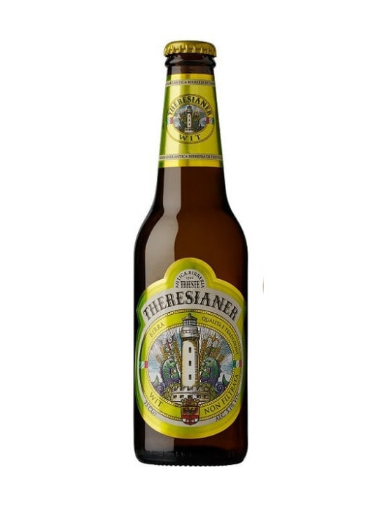 theresianer unfiltered wit beer 33cl