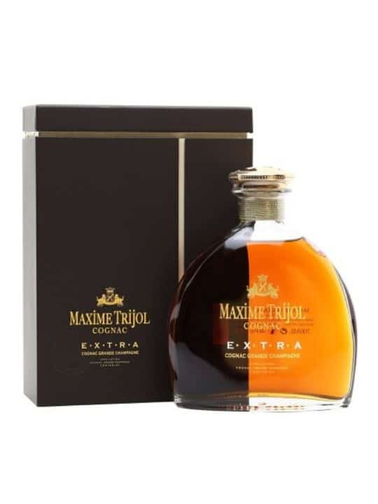 maxime trijol extra grand champagne cognac 70cl