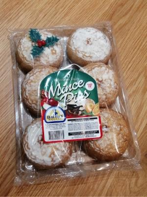 Puttinu Cares Christmas Mince Pies