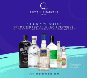 Gin and Tonic – 15% off