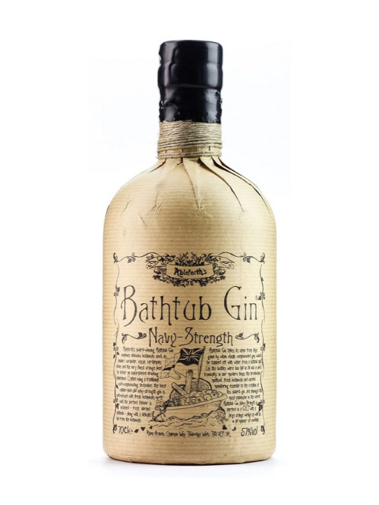 bathtub navy strenght gin 57 70cl