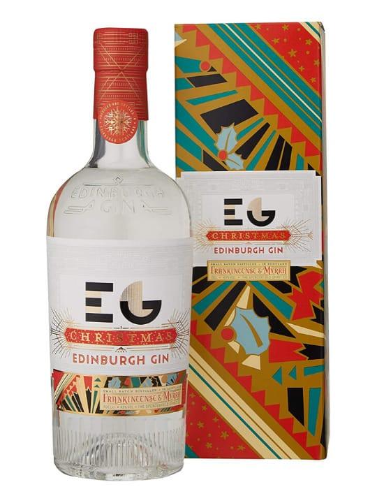 edinburgh christmas gin 70cl