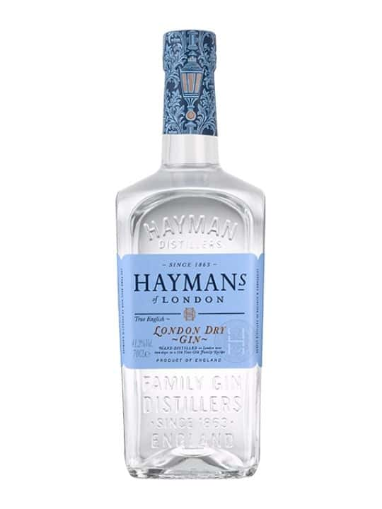hayman of london dry gin 41.2 70cl