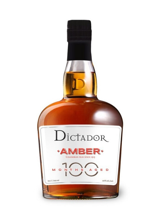 dictador aged 100 months amber 70cl