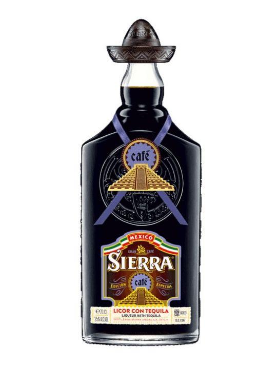 sierra tequila cafe liqueur 70cl