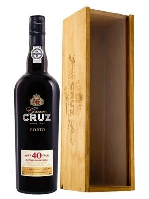Cruz 40 Year Old Port 75cl