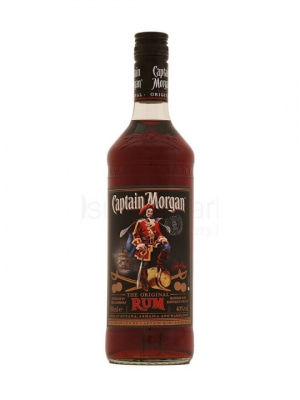 Captain Morgan Dark Original Rum 70cl