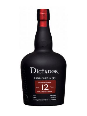 Dictador Rum 12 Year Old 70cl