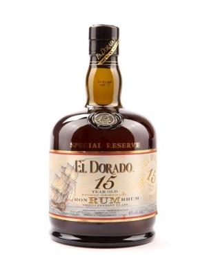 El Dorado 15 Year Old Rum 70cl