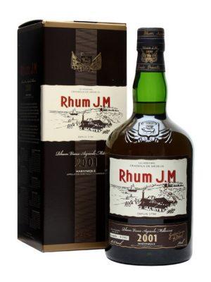 Rhum J.M Vintage 2001 70cl