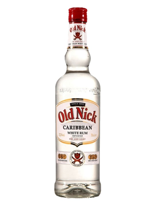 old nick white rum 100cl