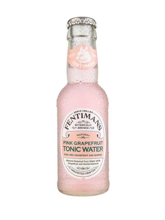 fentimans pink grapefruit tonic water 125ml