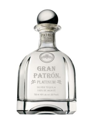 Patron Platinum Tequila 70cl