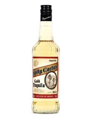 Spiky Cactus Gold Tequila 70cl