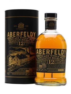 Aberfeldy 12 Year Old Single Malt 70cl