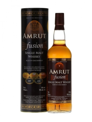 Amrut Fusion Indian Single Malt Whisky 50% 70cl