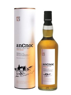 AnCnoc 12 Year Old Single Malt Scotch Whisky 70cl