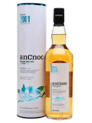 AnCnoc 2001 Year Old Single Malt Scotch Whisky 70cl