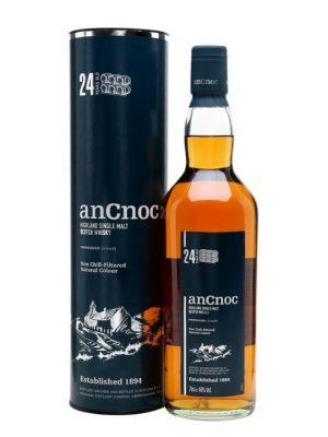 AnCnoc 24 Year Old Single Malt Scotch Whisky 70cl