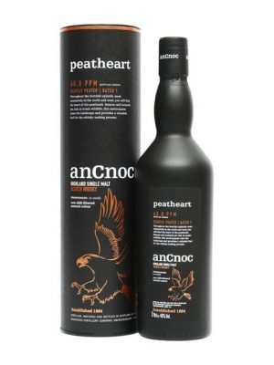 AnCnoc Peatheart Single Malt Scotch Whisky 70cl