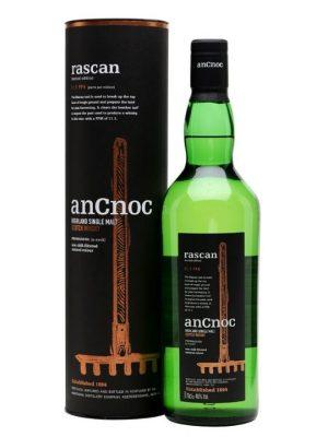 AnCnoc Rascan Single Malt Scotch Whisky 70cl