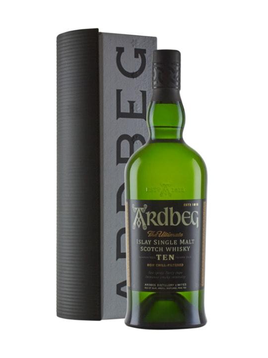 ardbeg warehouse pack 10 yo single malt whisky 70cl