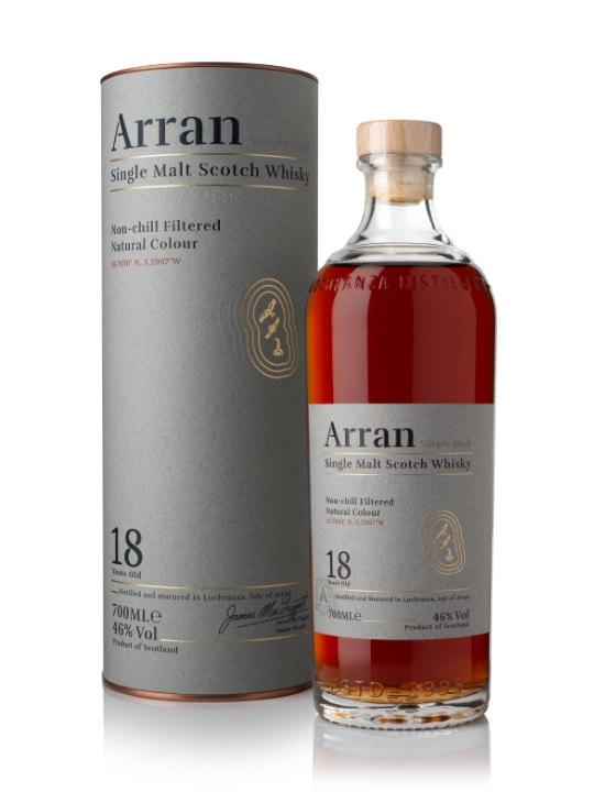 arran 18 yo single malt whisky 70cl