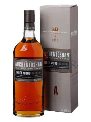 Auchentoshan Three Wood Single Scotch Malt Whisky 70cl