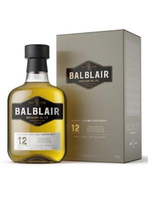 Balblair 12 Year Old Single Malt Scotch Whisky 70cl
