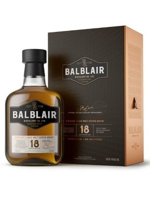 Balblair 18 Year Old Single Malt Scotch Whisky 70cl
