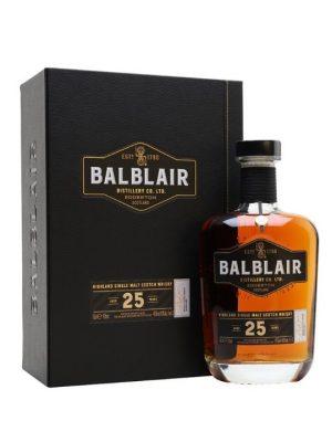 Balblair 25 Year Old Single Malt Scotch Whisky 70cl