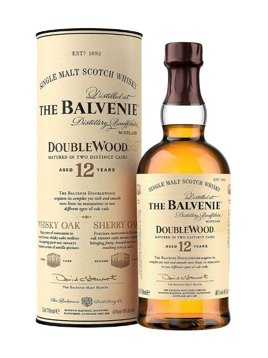 balvenie doublewood 12 yo single malt whisky 70cl