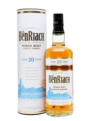 Benriach 20 Year Old Single Malt Scotch Whisky 70cl