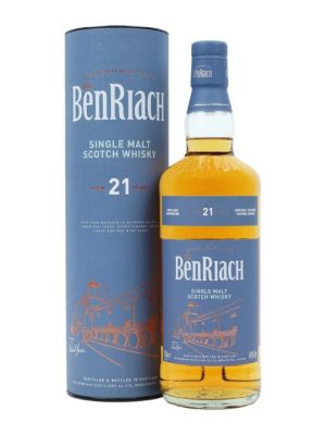 Benriach 21 Year Old Single Malt Scotch Whisky 70cl