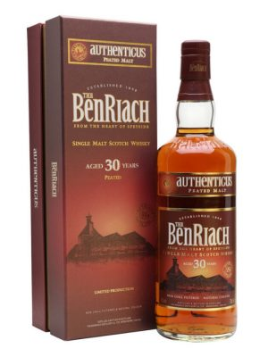 Benriach Authenticus 30 Year Old Single Malt Scotch Whisky 70cl