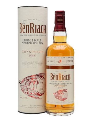 Benriach Cask Strength Batch 1 Single Malt Scotch Whisky 57.2% 70cl