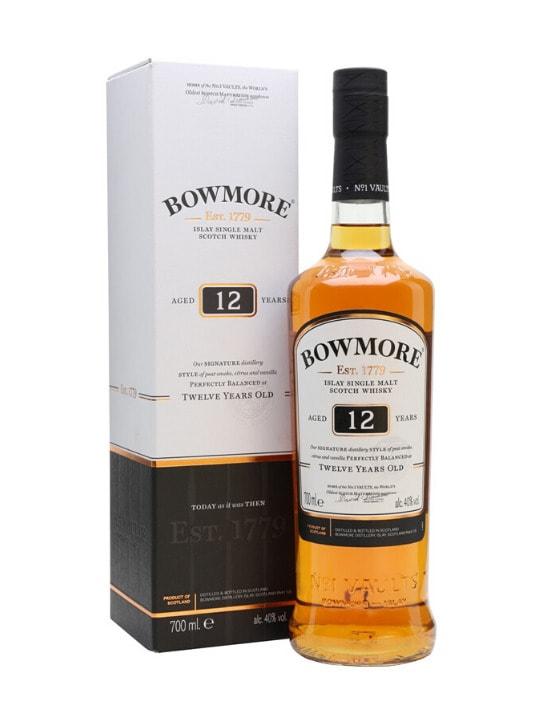 bowmore 12 yo single malt whisky 70cl