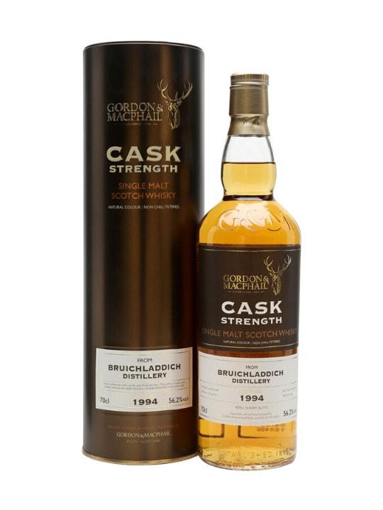 bruichladdich 1994 cask strenght 56.2 single malt scotch whisky 70cl