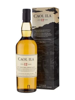 Caol Ila 12 Year Old Single Malt Scotch Whisky 70cl