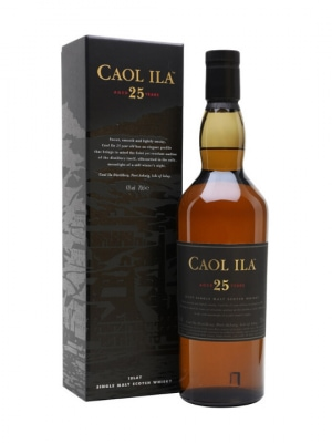 Caol Ila 25 Year Old Single Malt Scotch 70cl