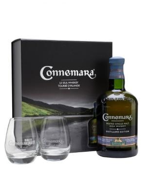 Connemara Peated Age Malt Whiskey 70cl + glass