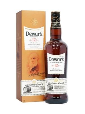 Dewars 12 Year Old Blended Scotch Whisky 70cl